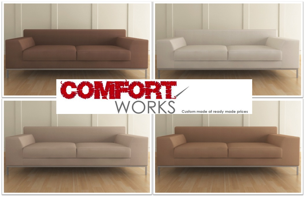 Pleasing Leather Sofa Comfort Works Evergreenethics Interior Chair Design Evergreenethicsorg