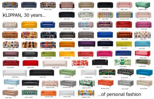 Comfort Works : Ikea KLIPPAN sofa 31 years of personality - Comfort Works Blog u0026 Design Inspirations