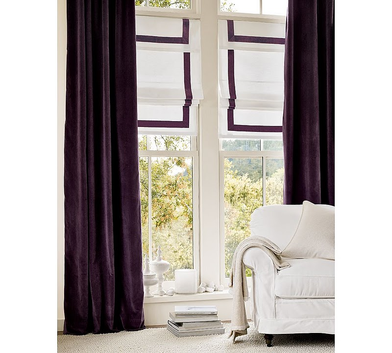 5 Australian Winter Home Must- - Purple Curtains Ikea