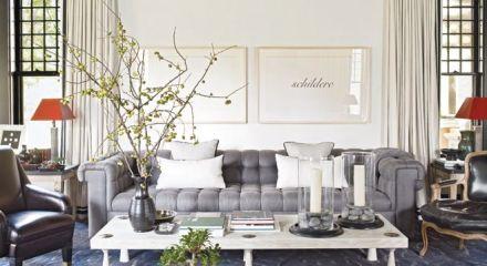 grey sofa elle decor