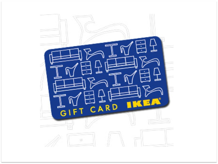 For every $200 spent on IKEA furniture between Thursday 10th June and  Sunday 20th June you will receive a bonus $20 IKEA Gift Card.