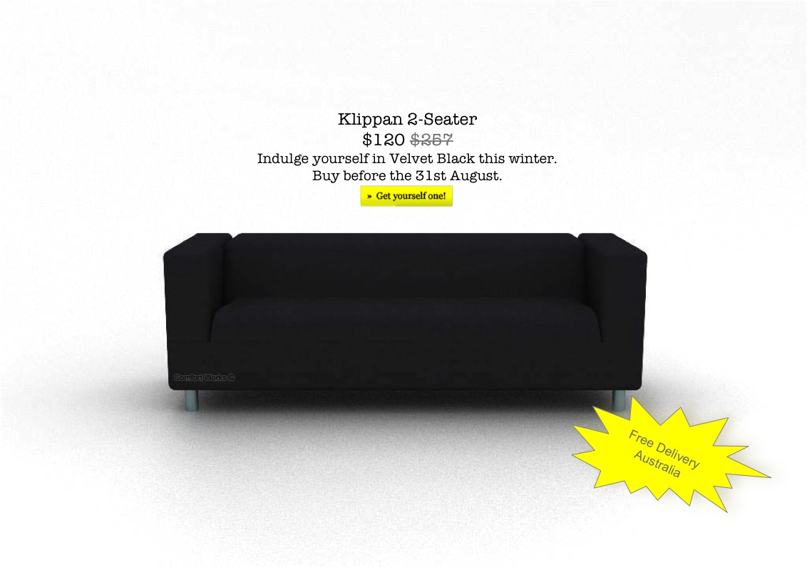 Comfort Works Ikea Klippan Winter Special Comfort Works Blog Design Inspirations